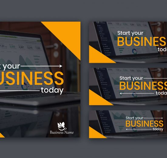 Social Media business design by jakariya shakil pro